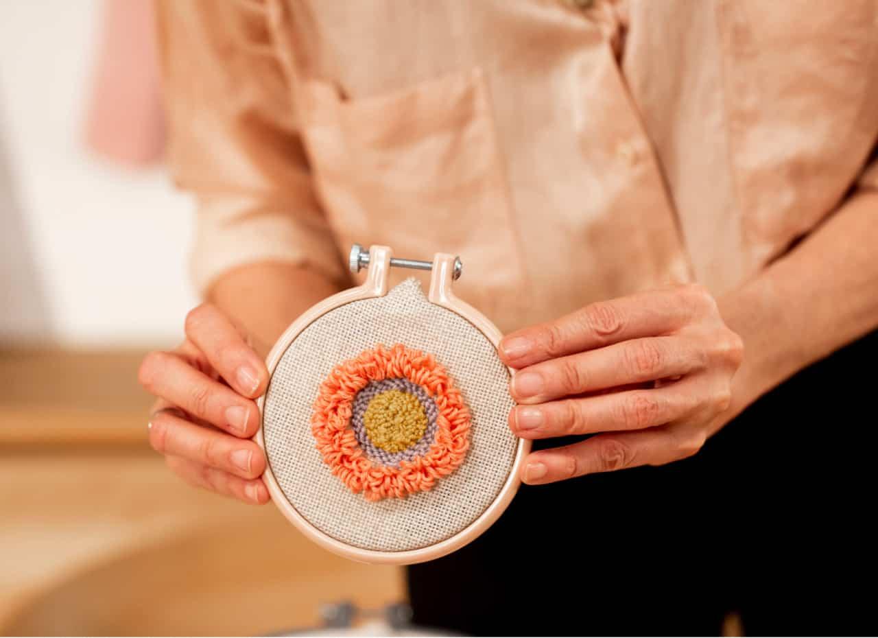 cursos bordado punch needle