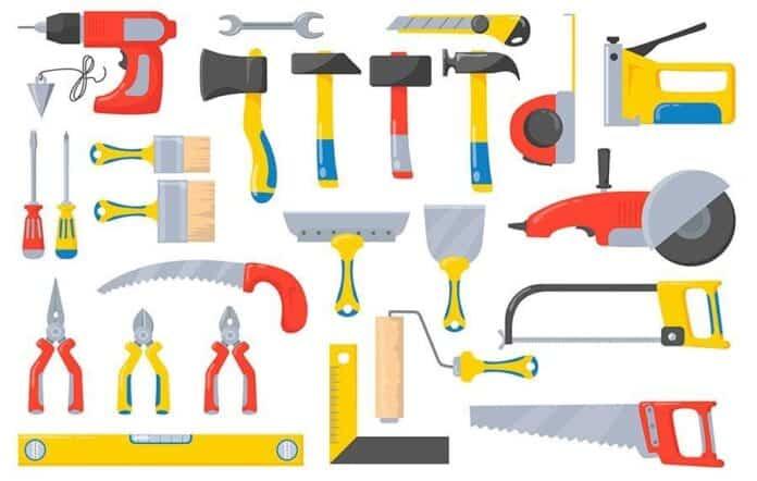 herramientas para el bricolaje